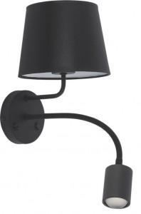 MAJA LED black kinkiet 1363 TK Lighting