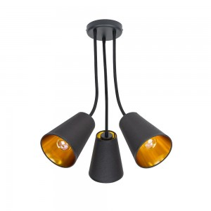WIRE black-gold III 827 TK Lighting