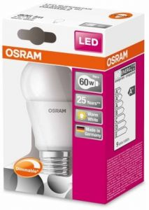 LED DO 9W E27 DIMMABLE  OSRAM